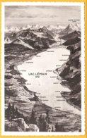 Suisse CP Lac Léman,  Cartographie - Cartes Géographiques