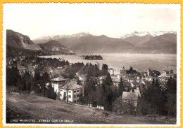 CP  113-vera Fotografia Fotocelere 1950-Lago Maggiore -Stresa Con Le Isole - Verbania