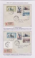 TAAF - Iles Australes - Kerguelen - Galliéni - AGI - Pa2-3 - P2-7 - Covers & Documents