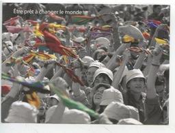"""Scouts Guides De France """"etre Prêt à Changer Le Monde"""" Aventure Humaine (cp Vierge) - Scoutisme"""