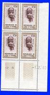 Côte D'Ivoire Bloc De 4 Coin Daté N°181 Neufs** 3/2/1960 - Ivoorkust (1960-...)
