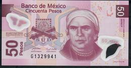 MEXICO P123j 50 PESOS 8.3.2010 Serie P     UNC. - Mexique