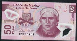 MEXICO P123k 50 PESOS 3.5.2010 Serie Q     UNC. - Mexique