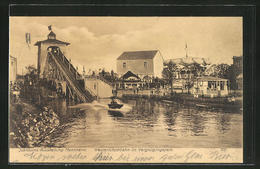 AK Mannheim, Jubiläums-Ausstellung 1907, Wasserrutschbahn Im Vergnügungspark - Expositions