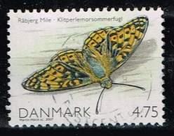 Dänemark 2007, Michel# 1472 O Queen Of Spain Fritillary (Issoria Lathonia) - Dänemark