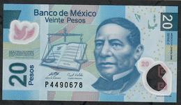 MEXICO P122b 20 PESOS  22.11.2006   Serie C  UNC. - Mexico