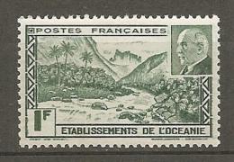OCEANIE -  Yv. N°  138   ** MNH   Pétain   Cote  1,4 Euro  TBE 2 Scans - Océanie (Établissement De L') (1892-1958)
