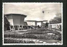 """AK Zürich, Schweizerische Landesausstellung 1939, Pavillon 43 """"Lernen Und Wissen"""" - Expositions"""