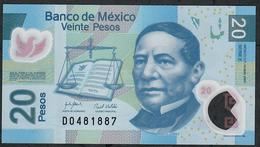 MEXICO P122c 20 PESOS  14.5.2007  Serie E  UNC. - Mexico