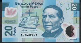 MEXICO P122c 20 PESOS  14.5.2007  Serie D  UNC. - Mexico