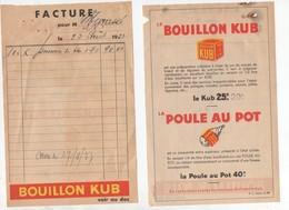 Facturette BOUILLON KUB  (PPP9520) - Food