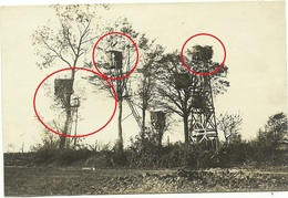 Beobachtungsposten  - Flandern - Klerken ?- Houthulst ? - Diksmuide ? -allemande Guerre 14-18 Photo  WWI - Guerra 1914-18