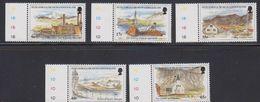 South Georgia 1999 Island Views 5v (+margin) ** Mnh (40955A) - Zuid-Georgia