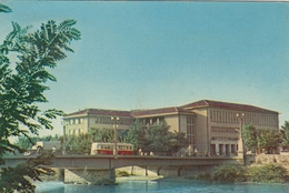 Skopje - University Of Law , Bus 1963 - Macédoine