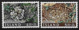Islande 1967 N° 368/369  Neufs ** MNH Nids D'oiseaux Surtaxe - 1944-... Republik