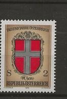 1000 Ans De L' Histoire Autrichienne.-Armoiries Des Provinces.-Vienne - 1971-80 Covers