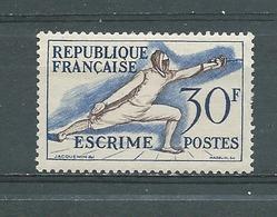 FRANCE   Yvert  N° 962 **  ESCRIME - Neufs