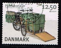 Dänemark 2013, Michel# 1738 O     Europa (C.E.P.T.) 2013 - Postal Vehicles - Danemark