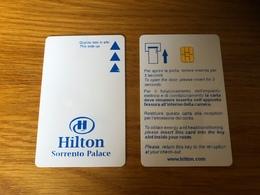 Keycard Hilton Sorrento Palace In Italy - Hotel Keycards