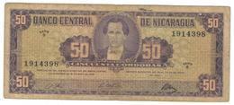 Nicaragua 50 Cordobas 1968, F. - Nicaragua