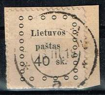 Litauen 1919, Michel# 17 O - Lituanie