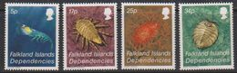 Falkland Islands Dependencies 1984 Crustacea 4v ** Mnh (40955D) - South Georgia
