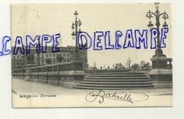 Liège. Les Terrasses. 1903. Lampadaires - Liege