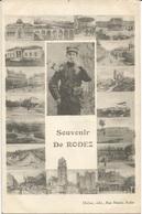 Rodez  Souvenir  Carte Multivues - War 1914-18