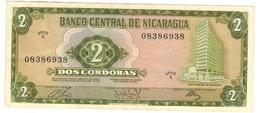 Nicaragua 2 Cordobas 1972, XF. - Nicaragua