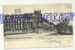 Liège. Terrasses Et Avenue Rogier. 1903 - Liege