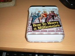 Tin Box Pin Ups How To Marry A Millionaire  Technicolor - Autres Collections