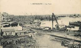 SYRIE - Beyrouth, Le Port. - Syria