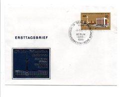 ALLEMAGNE RDA DDR FDC 1980 CONFERENCE INTERPARLEMENTAIRE BERLIN - [6] Democratic Republic