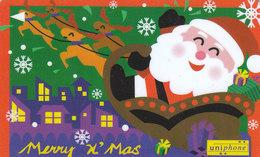 Malaysia, Uniphone, GPT, Merry X'Mas, Rare, Christmas, Navidad, Noel, Weihnachten - Malaysia