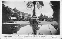 WW Photo Cpsm Cpm Cpa MARRAKECH. Hôtel La Mamounia 1936 - Marrakech