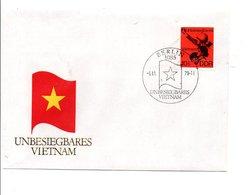 ALLEMAGNE RDA DDR FDC 1979 AIDE AU VIETNAM - [6] Democratic Republic