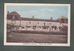 Bris - CP - 16 - Ambernac  -   Château Chez Guilloux - France
