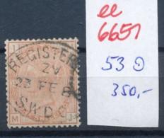 UK  Nr.    53   O   (ee6651 ) Siehe Scan - 1840-1901 (Victoria)