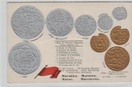 Motiv-Münzen/Präge - Marokko  - Schöne Alte Karte ....   (ka5187  ) Siehe Scan - Munten (afbeeldingen)