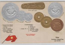 Motiv-Münzen/Präge - China   - Schöne Alte Karte ....   (ka5189  ) Siehe Scan - Coins (pictures)