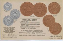 Motiv-Münzen/Präge - China      - Schöne Alte Karte ....   (ka5213  ) Siehe Scan - Coins (pictures)