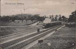 Harrow From Railway - Middlesex