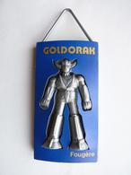 RARE Pas FIGURINE - DEODORANT GOLDORAK BLEU FONCE Fougères 1978 - Goldorak