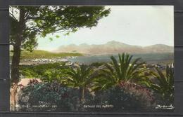 Q5038E-BELLA TARJETA POSTAL PALMA MALLORCA POLLENSA,DETALLE DEL PUERTO CIRCULADA CON SE FRANCO - España