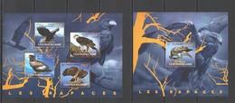 RR770 2014 CENTRAL AFRICA FAUNA BIRDS RAPTORS OF AFRICA RAPACES KB+BL MNH - Adler & Greifvögel