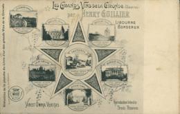 33 BORDEAUX / Les Grands Vins De La Gironde - Henry Guillier / - Bordeaux