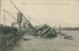 """33 BORDEAUX / Le """"Chili"""" échoué  En Rade Le 24 Avril 1903 // - Bordeaux"""