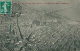 33 BORDEAUX / La  Rade Et La Tour Saint Michel - Vue D'avion / - Bordeaux