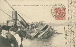 33 BORDEAUX /  Le Chili échoué En Rade Le 24 Avril 1903 / - Bordeaux