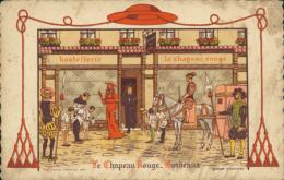 33 BORDEAUX / Hostellerie Le Chapeau Rouge / Dessin / - Bordeaux